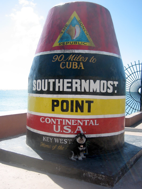 The southernmost point in the continental USA