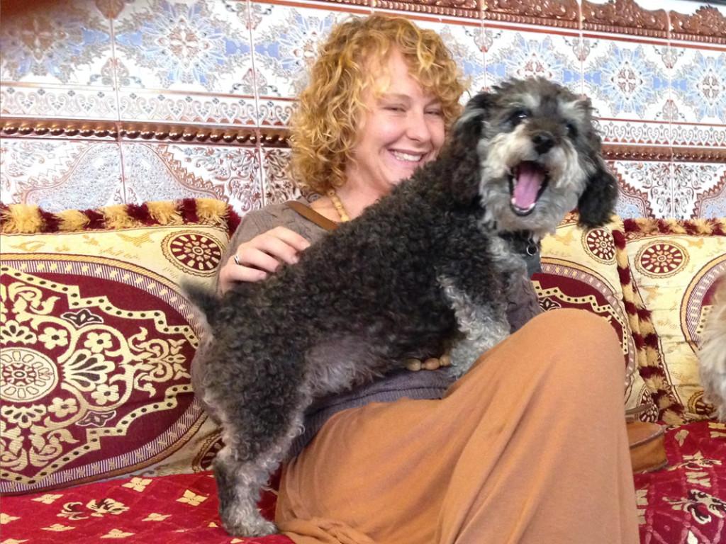 Willie with Crystal in El Jadida Morocco