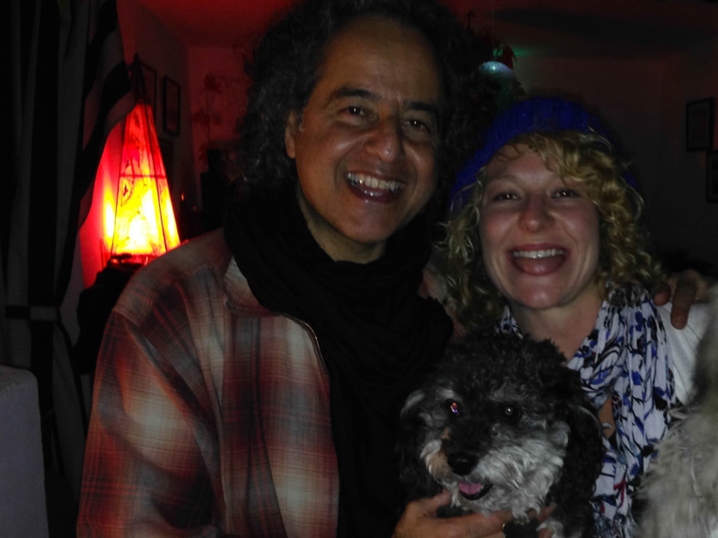 Willie with Crystal and musician ABAJI in Eljadida Morocco