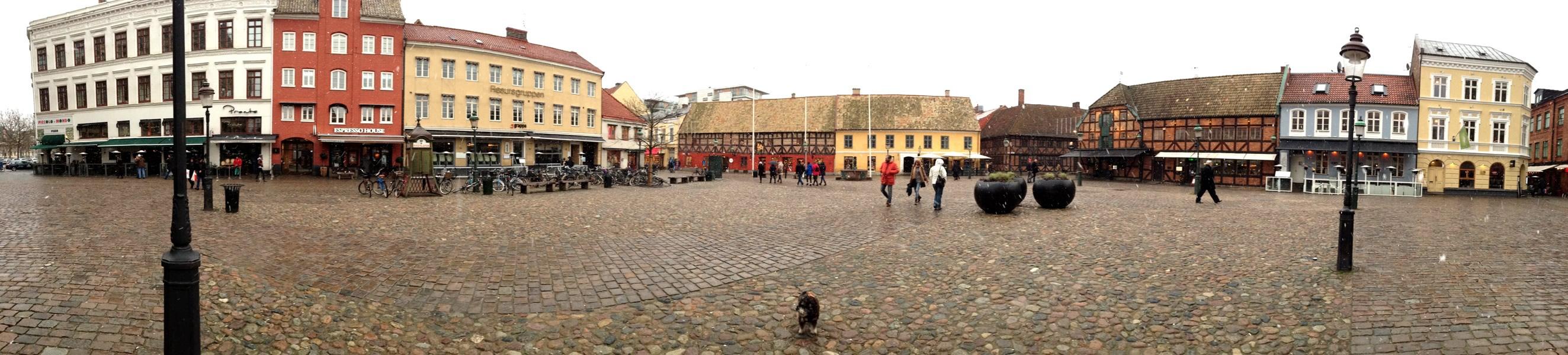 Lilla Torg in Malmo Sweden