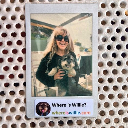 Polaroid of Willie in Fuengirola Spain with Lulu