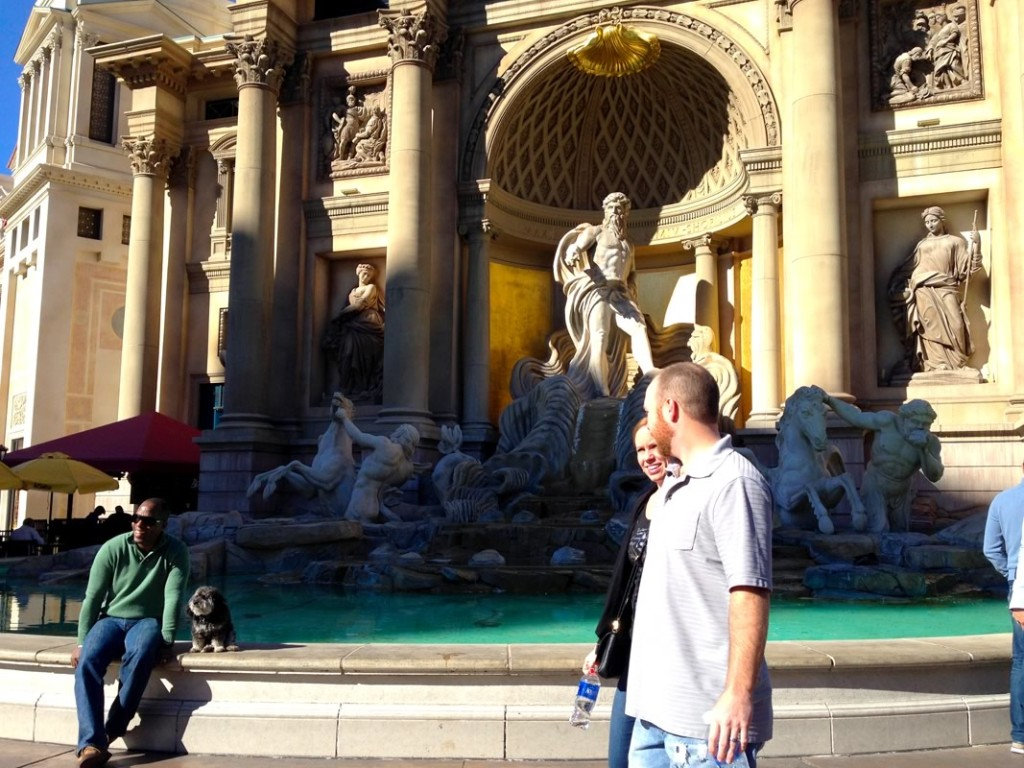 Willie at Caesars Palace in Las Vegas