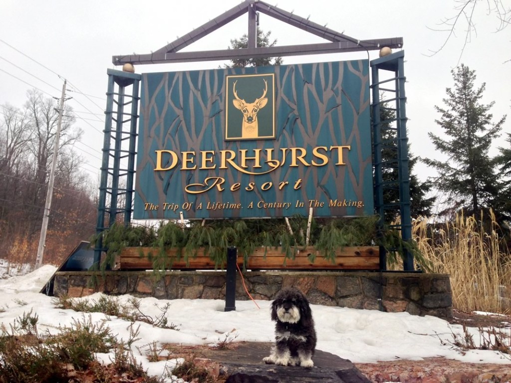 Willie visits the Deerhurst Resort in Huntsville Canada