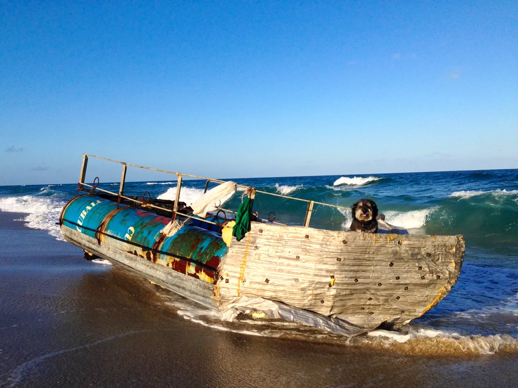 Shipwreck from Cuba on Boynton Beach Florida