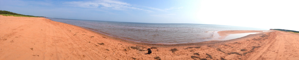 Atlantic Beach in Prince Edward Island
