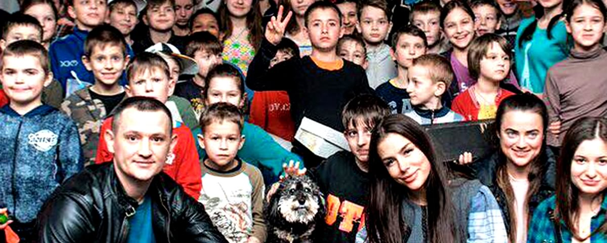 Where is Willie Foundation supports orphans in Ukraine Colombia & India