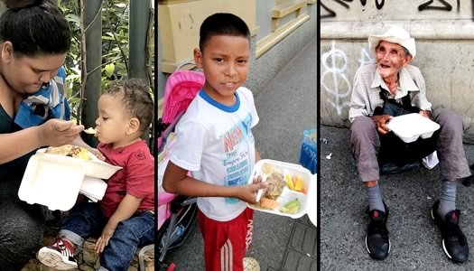 #FeedTheStreet Colombia provides meals to displaced Venezuelan Families